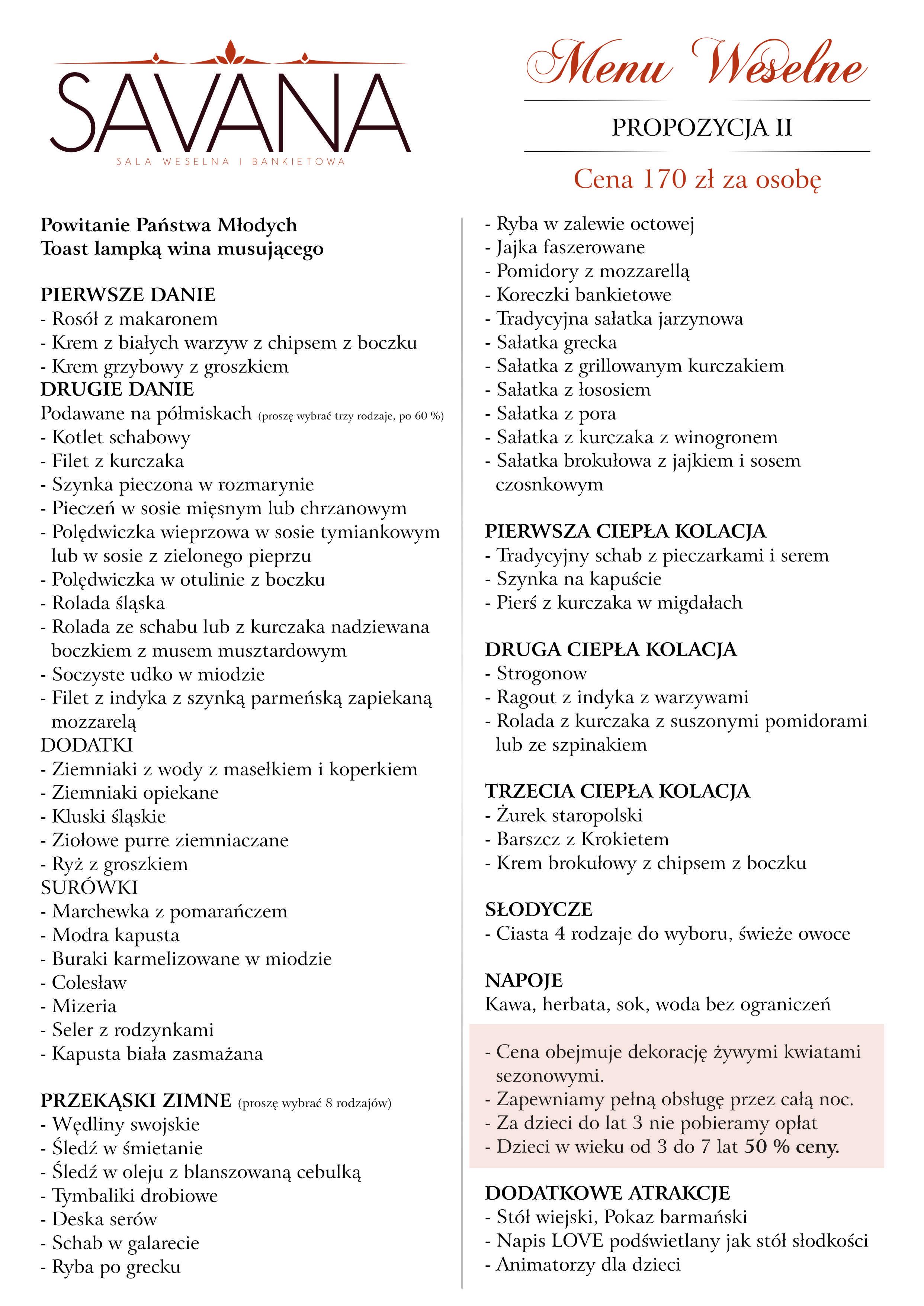 menu 170